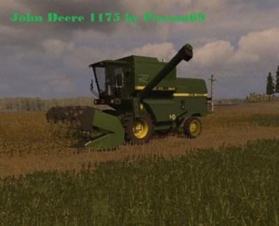 FS 2011: John Deere 1175 v 2.0 John Deere Mod für Farming Simulator 2011