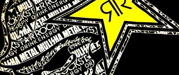 Ken Block Cars Wallpaper Ets 2 Rockstar Energy Daf Skin V 1 0 Skins Mod F 252 R
