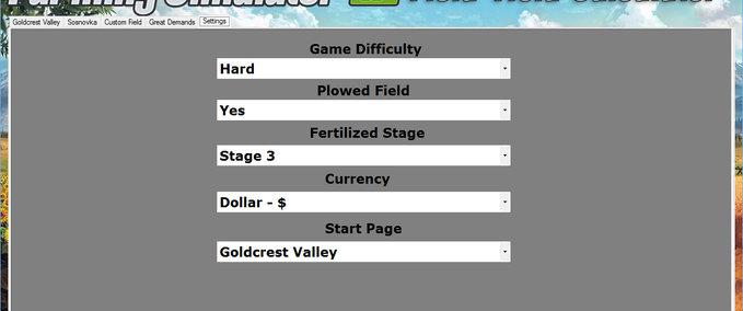 FS 17 Field Yield Calculator v 12 Tools Mod für Farming Simulator 17
