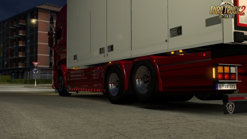 Ngs Scania Interieur Ets 2: Accessories Pack For Tandem Addon For Rjl By Kast 1
