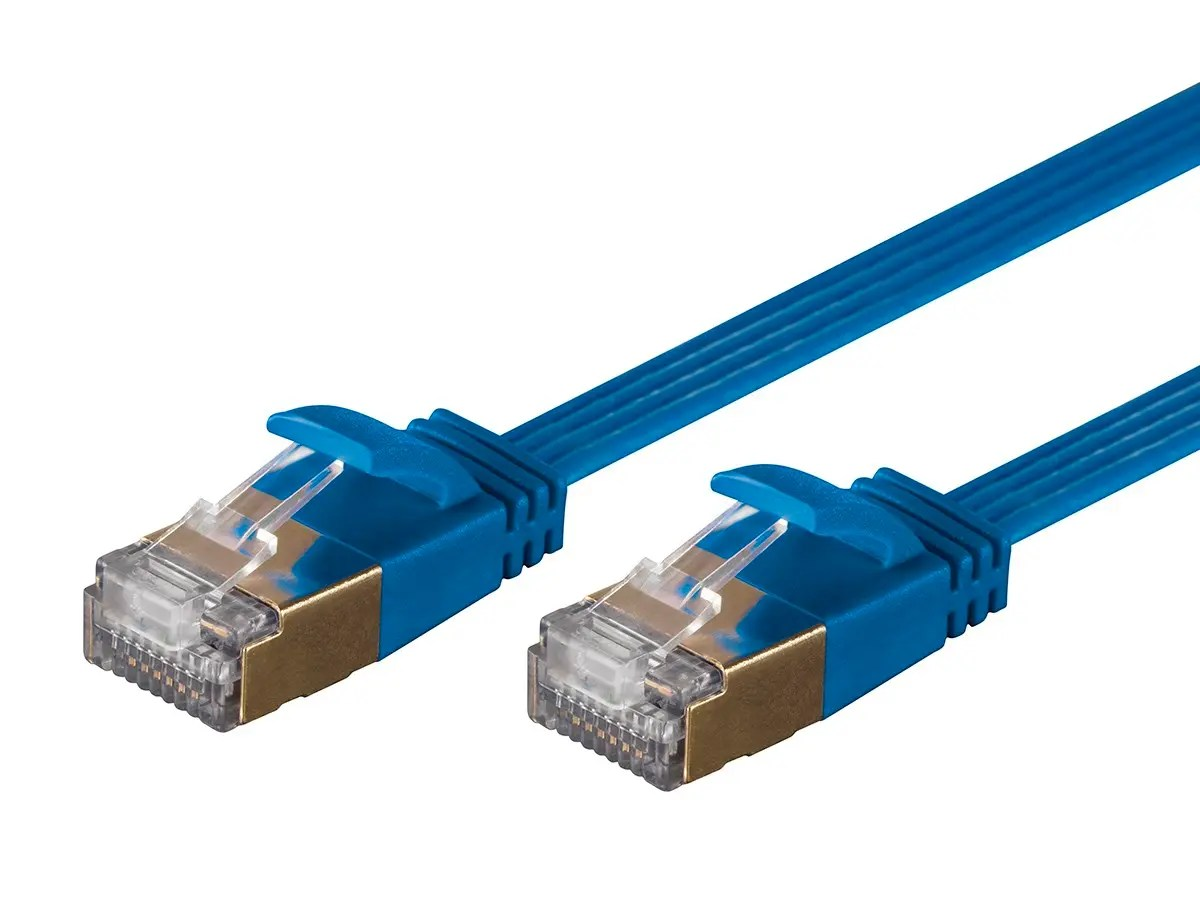 Cable Ethernet Monoprice Slimrun Cat6a Ethernet Patch Cable Snagless Rj45