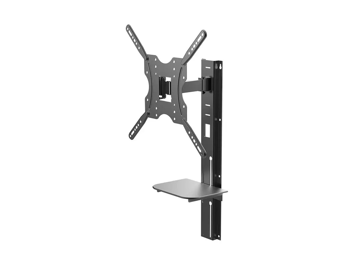 Small Tv Wall Shelf Monoprice Full Motion Articulating Tv Wall Mount Bracket With