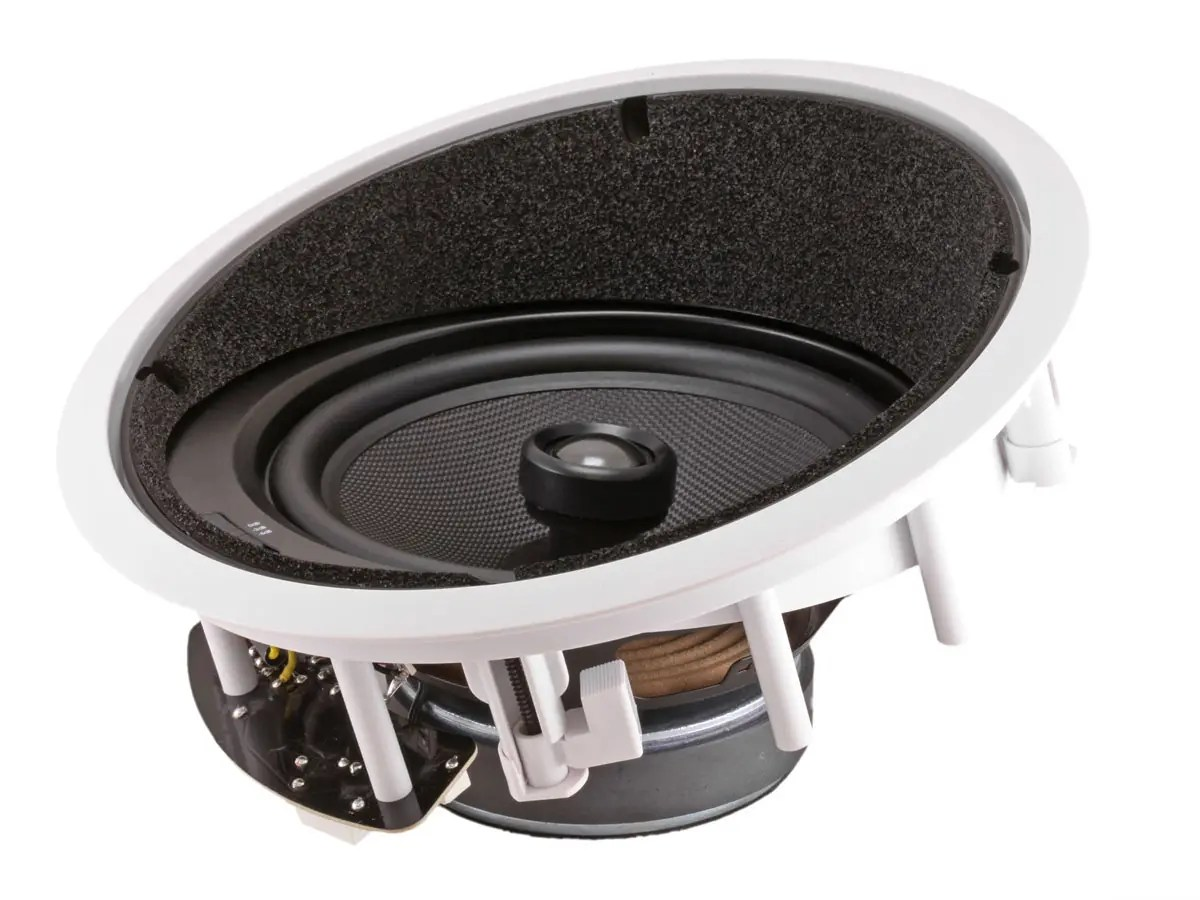 Monoprice Caliber In Ceiling Speakers 8in Fiber 2 Way