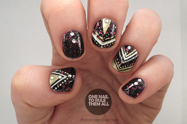 An Oh-So-Glamorous Nail Design to Celebrate The New Year more