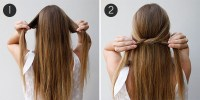 Simple Summer 'Do: The Knotted Half Updo | more.com