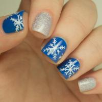 Nail Art How-to: Snowflake Design | more.com