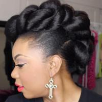 Stunning Wedding Hairstyles for Black Women | more.com