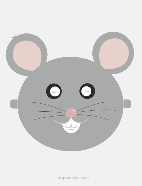 Printable Animal Masks - Mr Printables