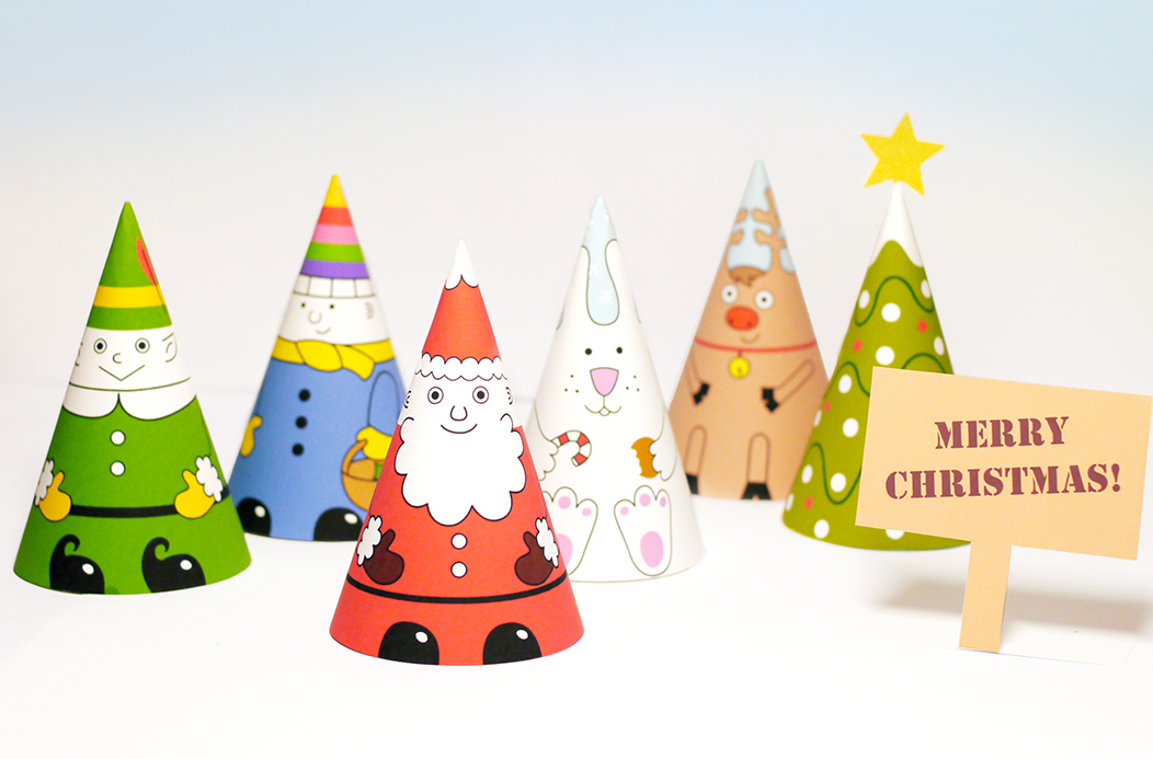 Santa  Co Paper Dolls - Mr Printables