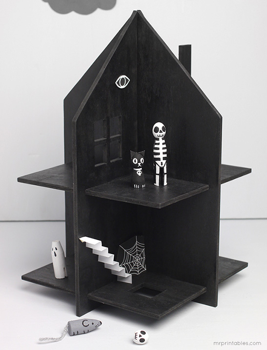 Haunted Dolls House - Mr Printables