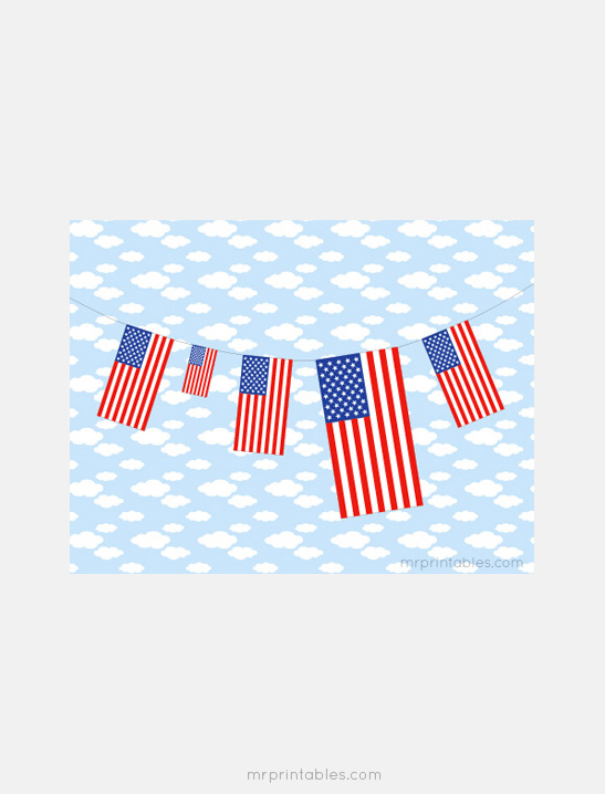 Printable American Flag - Mr Printables