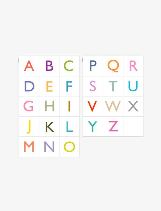 Printable Alphabet Cards - Mr Printables