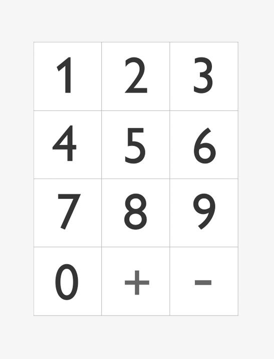 Printable Numbers - Mr Printables