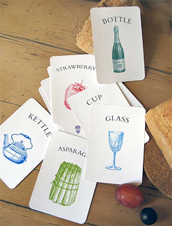 Kitchen Vocabulary Flash Cards - Mr Printables - vocab cards
