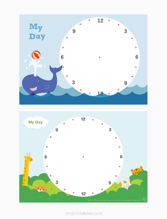 Daily Planner for Kids - Mr Printables - day planner