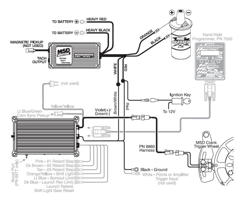 msd crank trigger wiring diagram