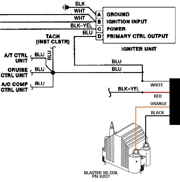 Msd Tach Wiring Schematic Wiring Diagram