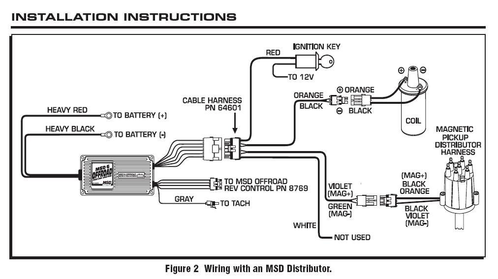 hei distributor wiring diagram for ford 289 hei module conversion
