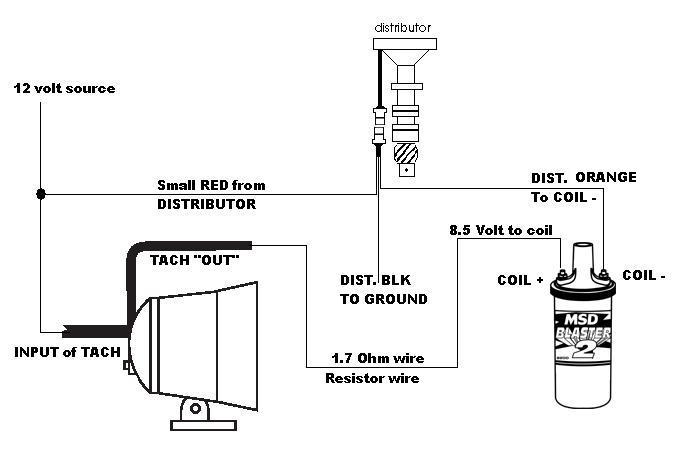 msd coil wire diagram