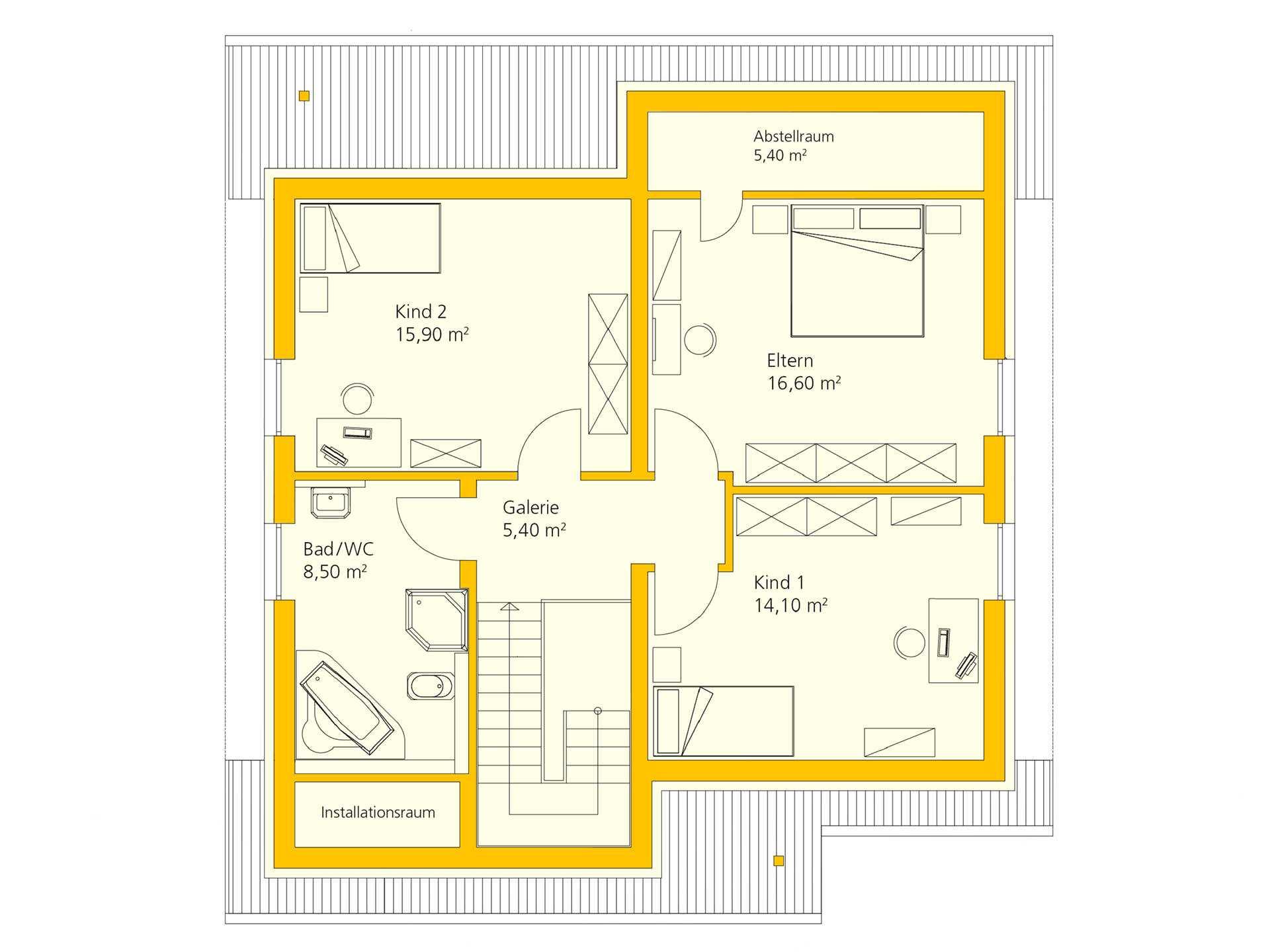 badezimmer grundriss ma e haus augstein. Black Bedroom Furniture Sets. Home Design Ideas
