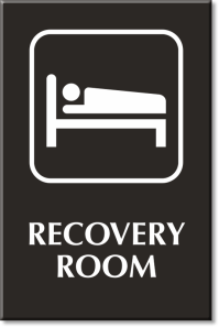 Recovery Room Signs | Recovery Room Door Signs