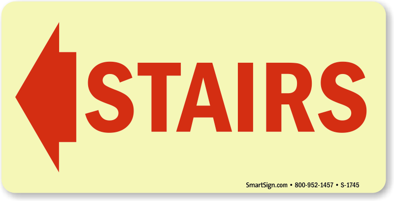 Best Selling Stairwell Exit Signs Emergency Exit Stairs
