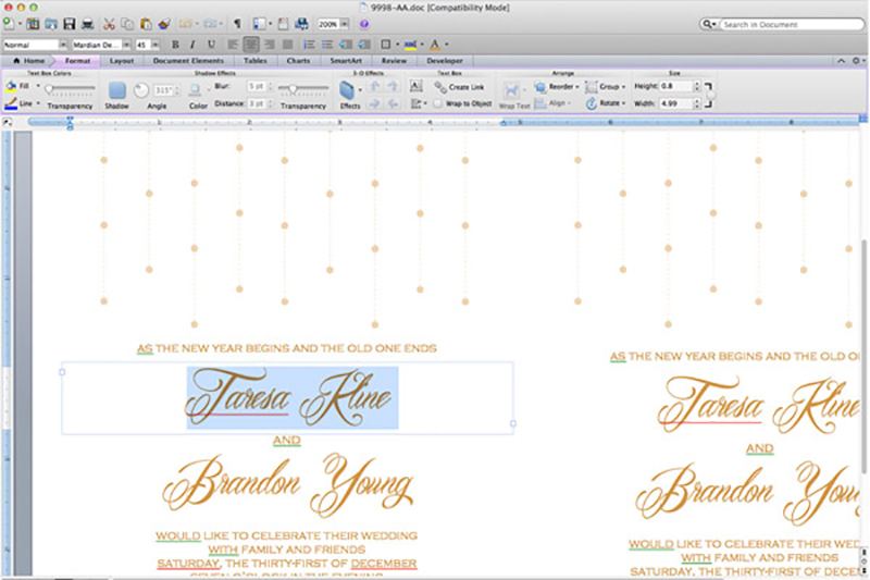 DIY Bling Wedding Invitations - My Online Wedding Help Budget - how to make invitations with microsoft word