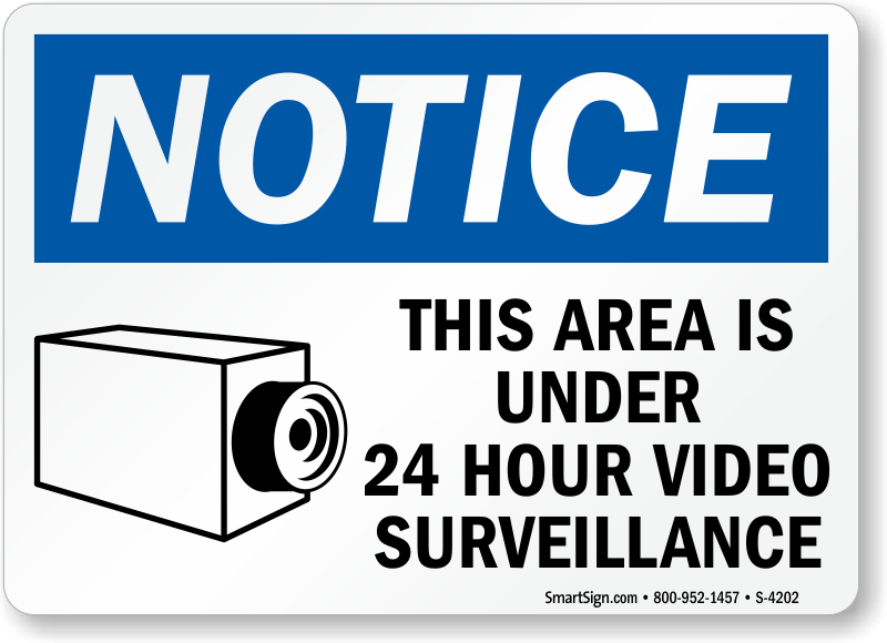 3 Ways To Stop Collection Calls Wikihow Area Under Surveillance Signs Signs Ship Free