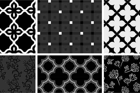 Trend Watch Bold Black  White - Style - NAILS Magazine
