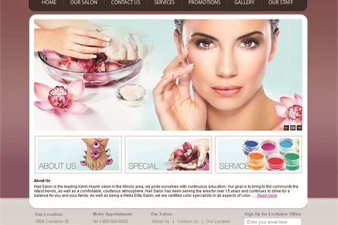 Website Template Puts A Professional Site Within Reach