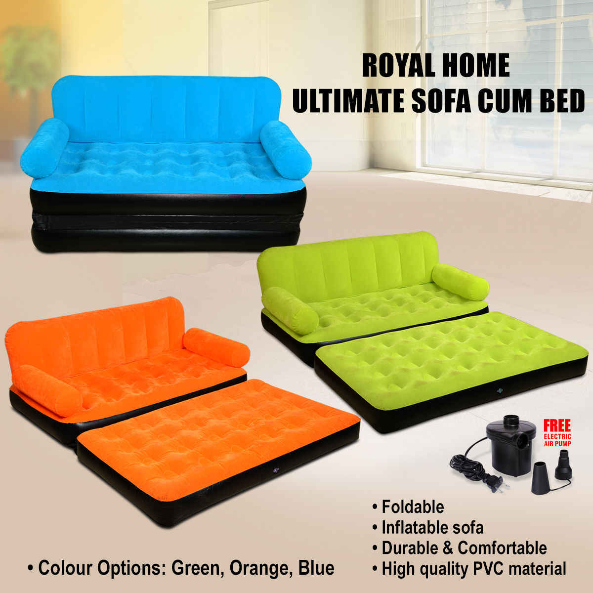 Buy Sofa Bed Online Buy Royal Home Ultimate Sofa Cum Bed Online At Best Price