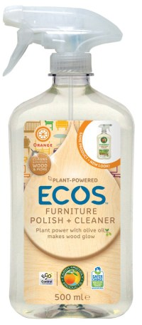 Earth Friendly Furniture Polish 500ml - Natural Collection