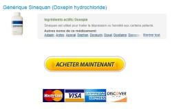 100% Satisfaction garantie * Pharmacie En Ligne France Sinequan Générique