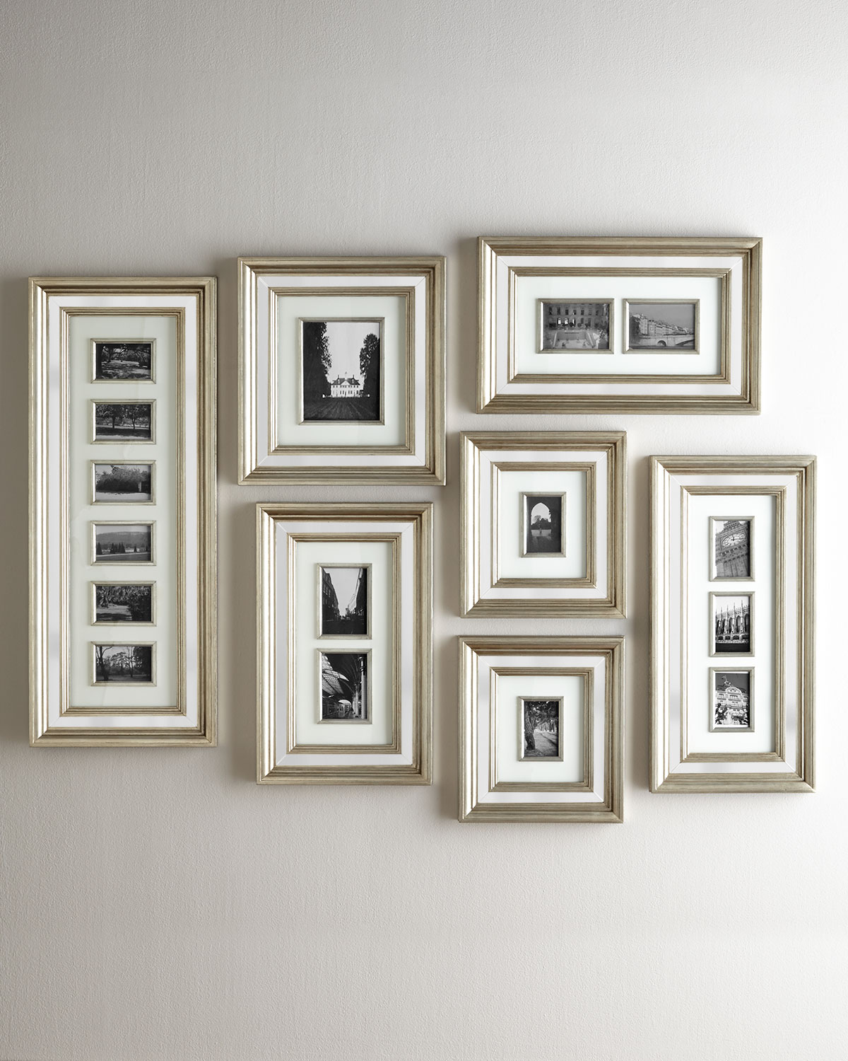 Mirrored Picture Frames Mirrored Collage Picture Frame Gallery Neiman Marcus