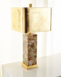 Onyx Table Lamp | Neiman Marcus