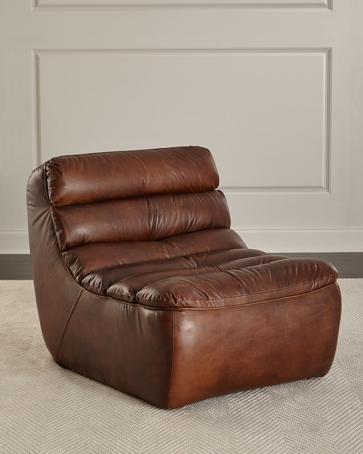 Leather Lounge Renee Leather Lounge Chair