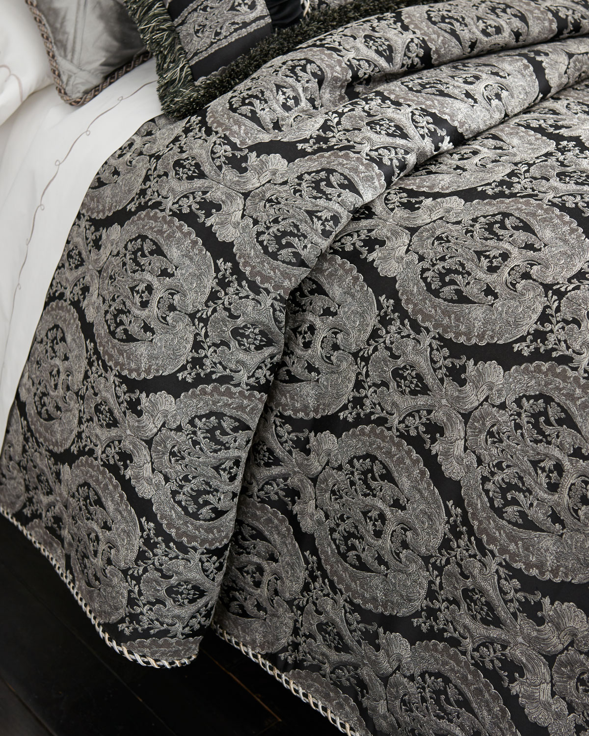 Damask Duvet Bianca King Damask Duvet