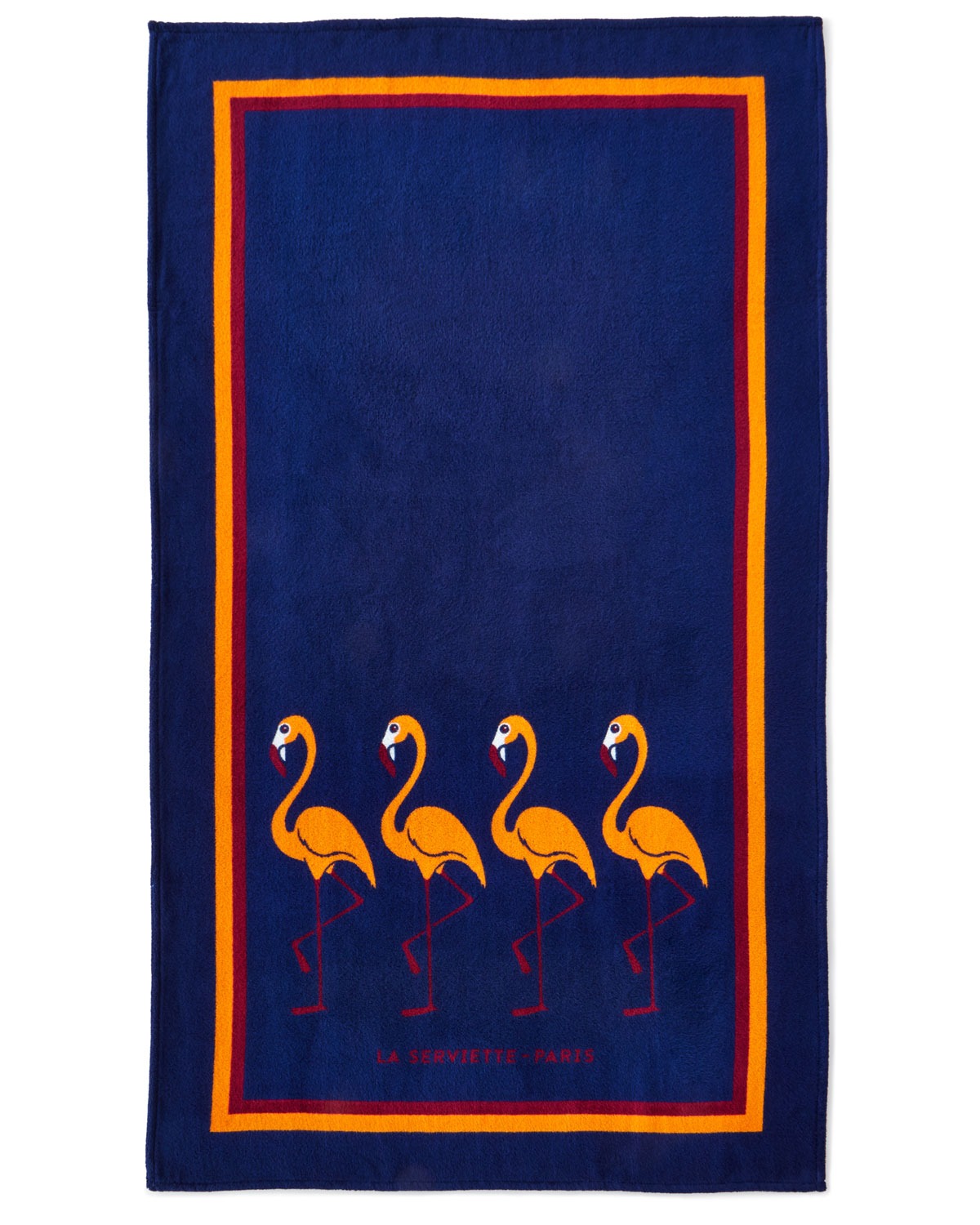 Serviette Portugal Flamingo Beach Towel Blue