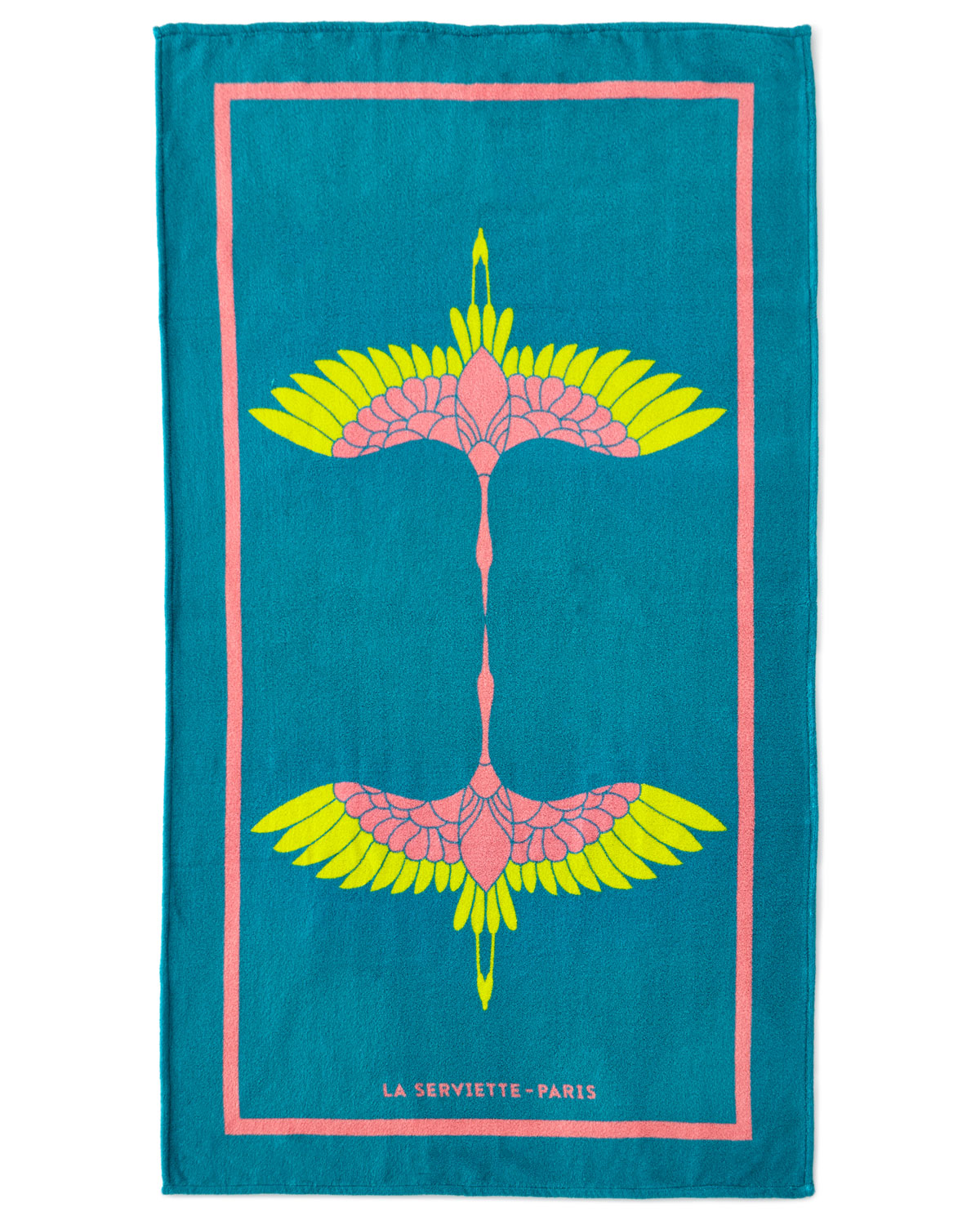 Serviette Portugal Heron Beach Towel Turquoise