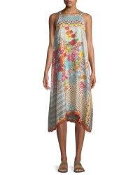 Johnny Was Lomi Sleeveless Tank Dress, Petite | Neiman Marcus