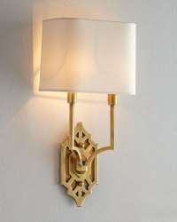 Visual Comfort Silhouette Fretwork Sconce