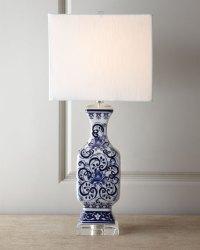 Toile Scenes Lamp   Neiman Marcus