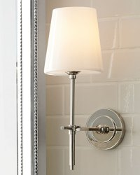 Visual Comfort Bryant Sconce with Glass Shade