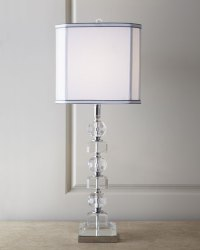 Stacked Crystals Table Lamp | Neiman Marcus