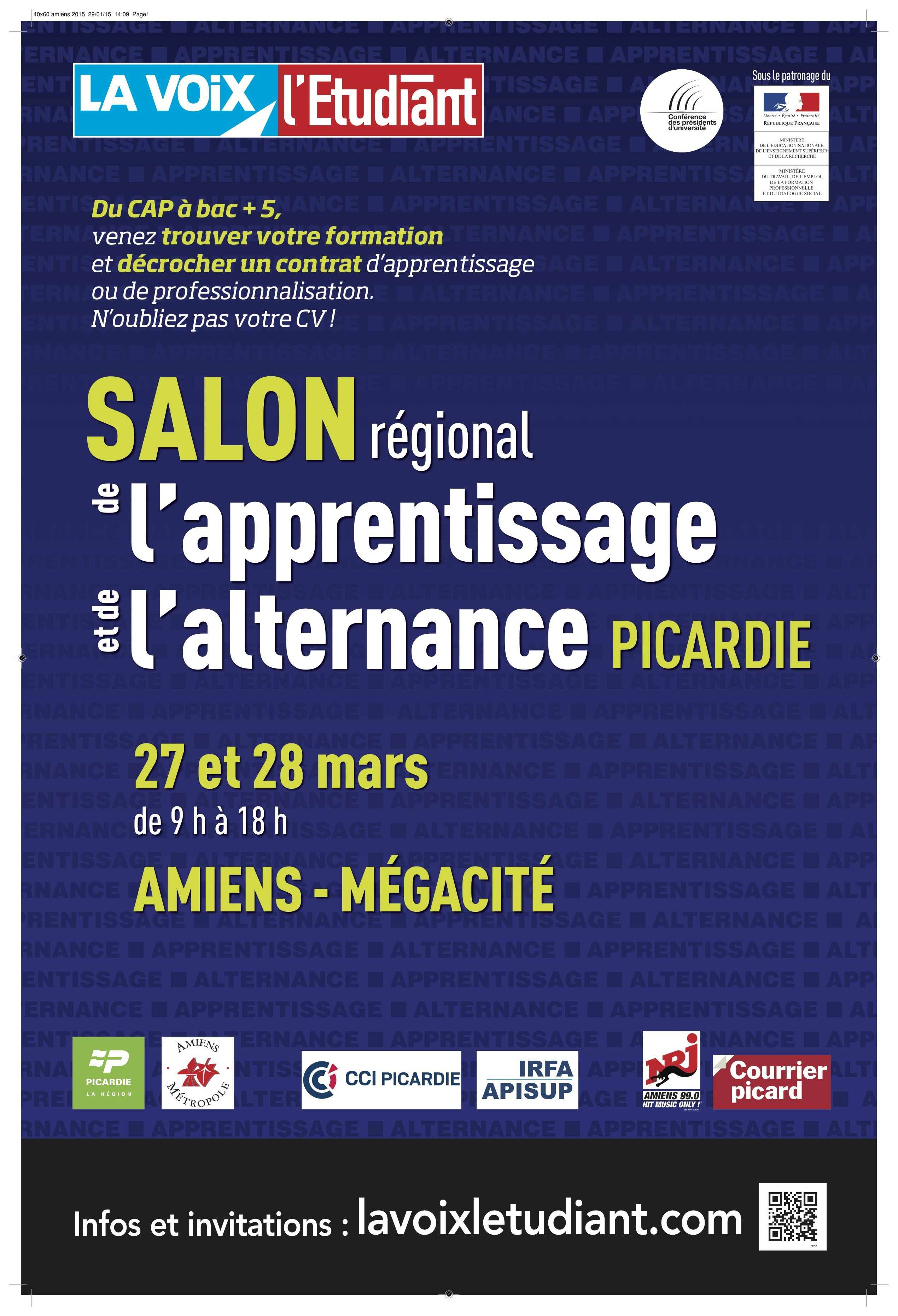 Salon De L Alternance Salon De L Apprentissage Et De L Alternance D Amiens 2019