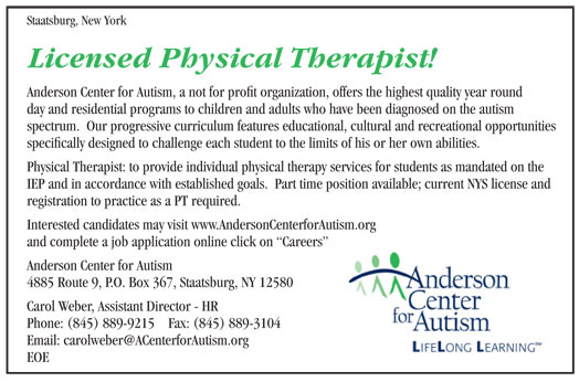 Licensed Physical Therapist job in Staatsburg New York - Healthcare - physical therapist job description