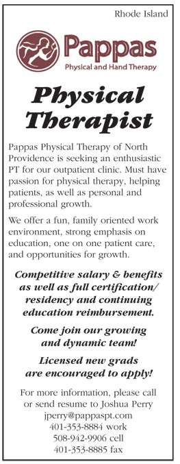 Physical Therapist job in Rhode Island - Healthcare Jobs  Recruitment - physical therapist job description