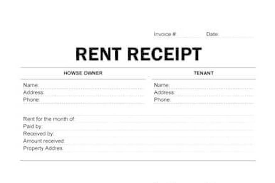 Understanding HRA (House Rent Allowance) and Why You Should Not - monthly rent receipt