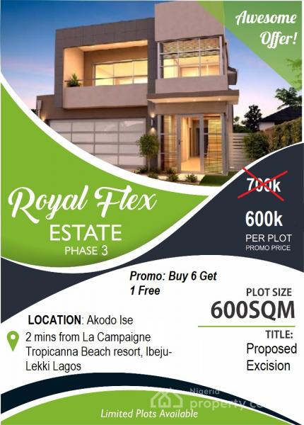 For Sale Plots Of Land , Royal Flex Estate Phase 3, Less Than - land for sale flyer