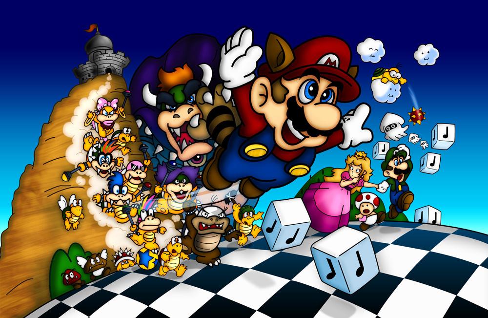 I Letter 3d Wallpapers Mario Memories Super Mario Bros 3 Still Bringing